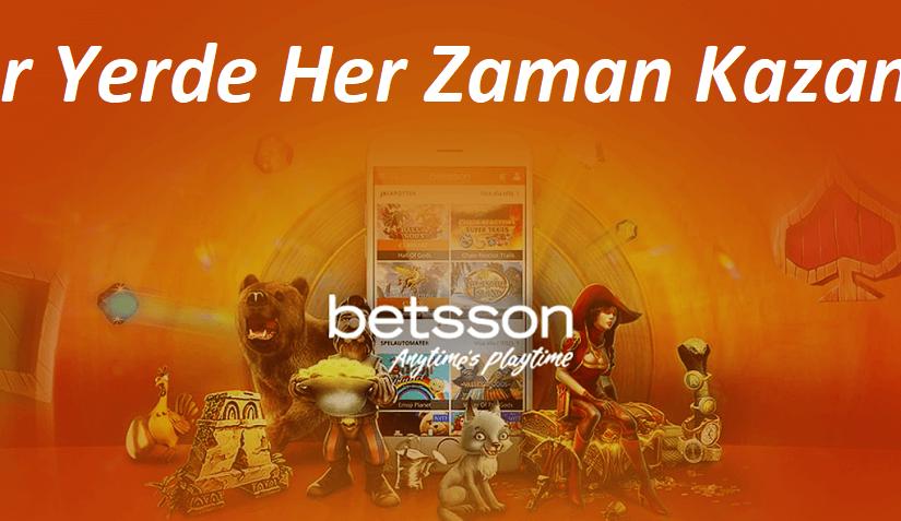 Betsson Mobil Bahis Casino Şirketinin Son Giriş Adresi